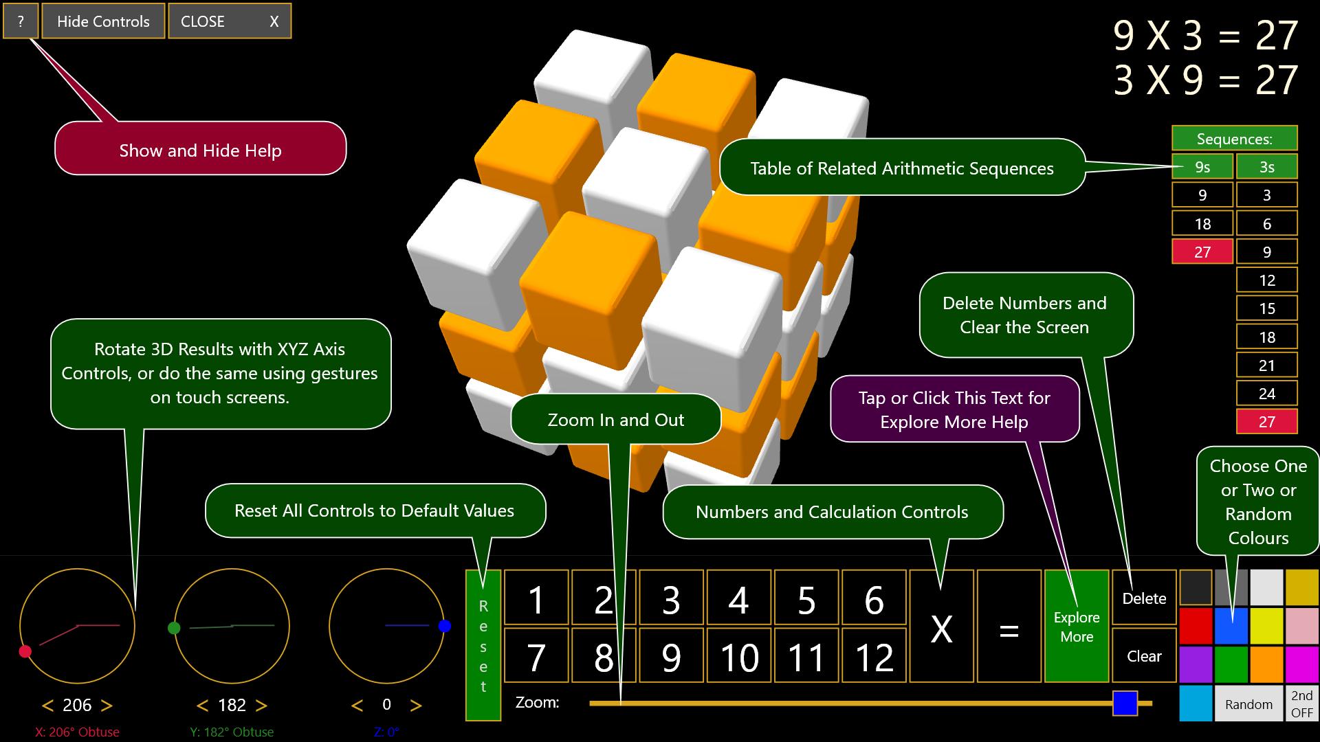 3d times table calculator 3dsmart interactive educational interactive 3d multiplication times table calculator features gamestrikefo Gallery